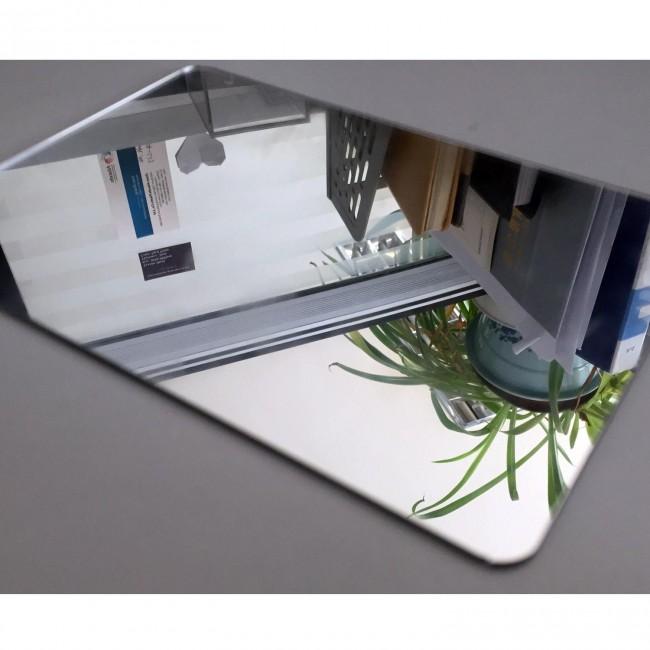 Harf / Karakter Kesim Gümüş Ayna Pleksi 1.8 mm