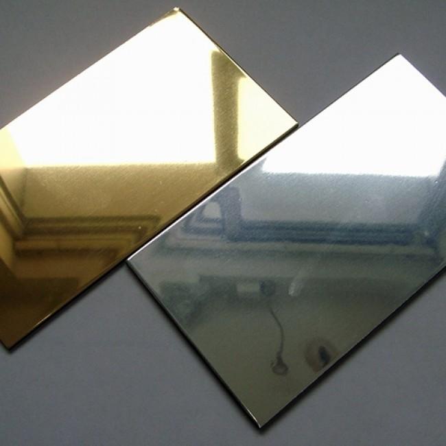 Özel Kesim 19 mm Parça Altın Aynalı Dekota