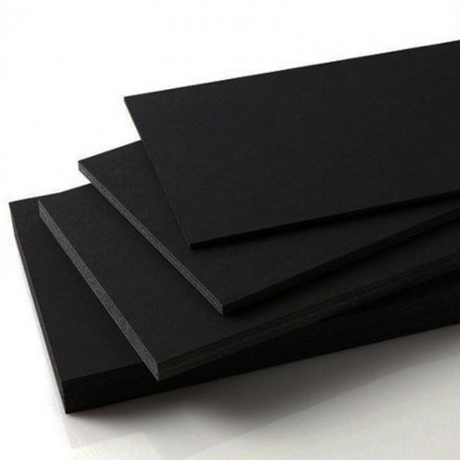 3 mm Siyah Dekota (Forex) 156x305 cm.