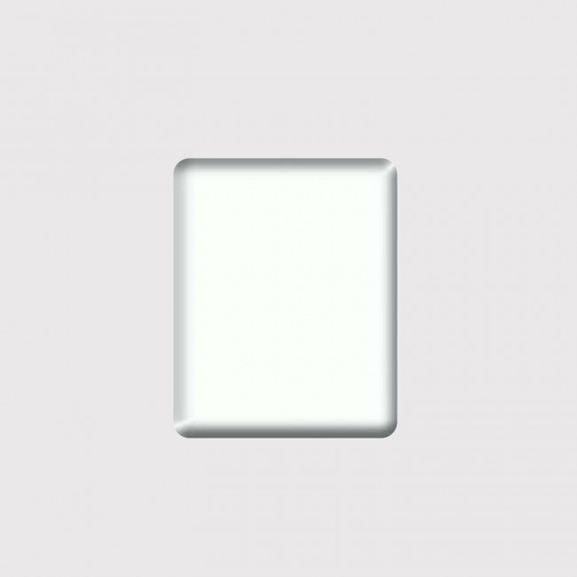 Harf / Karakter Kesim Kompozit Beyaz