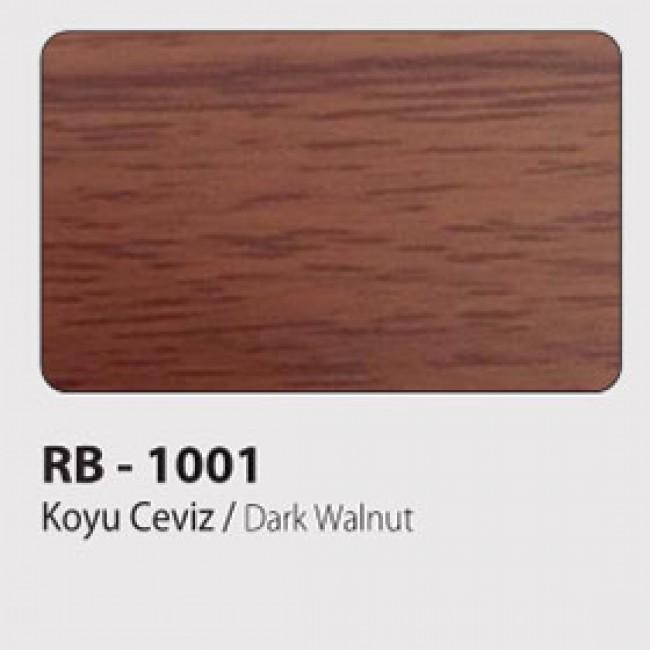 Koyu Ceviz Ahşap Kompozit 125x320 cm.