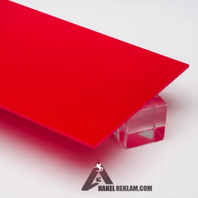 Özel Kesim 2 mm Parça Pleksi - Kırmızı