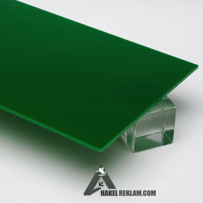 Özel Kesim 2.8 mm Parça Pleksi -Koyu-Yeşil