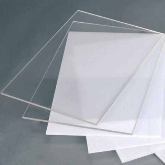Şeffaf - Buzlu - Beyaz Pleksi 2.8 mm
