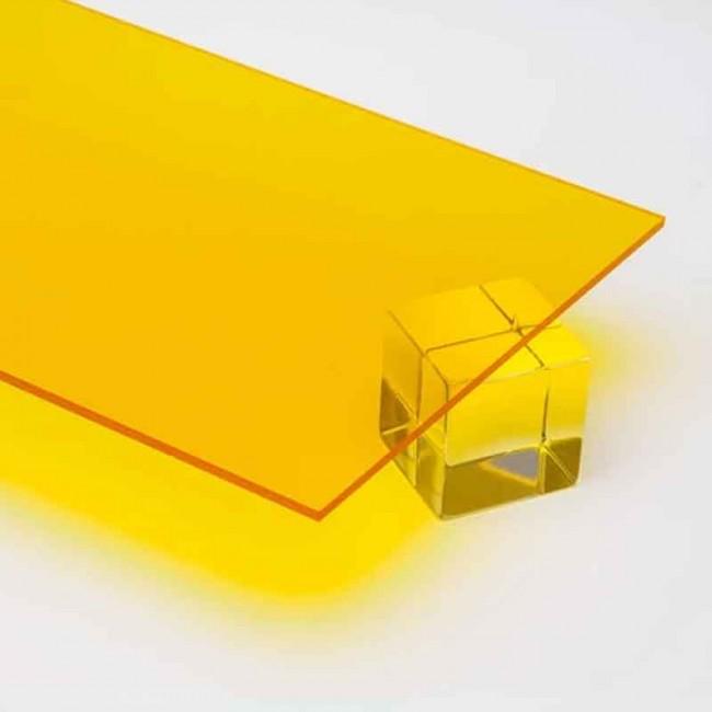 2.8 mm Transparan Pleksi Sarı - 135 x 200 cm