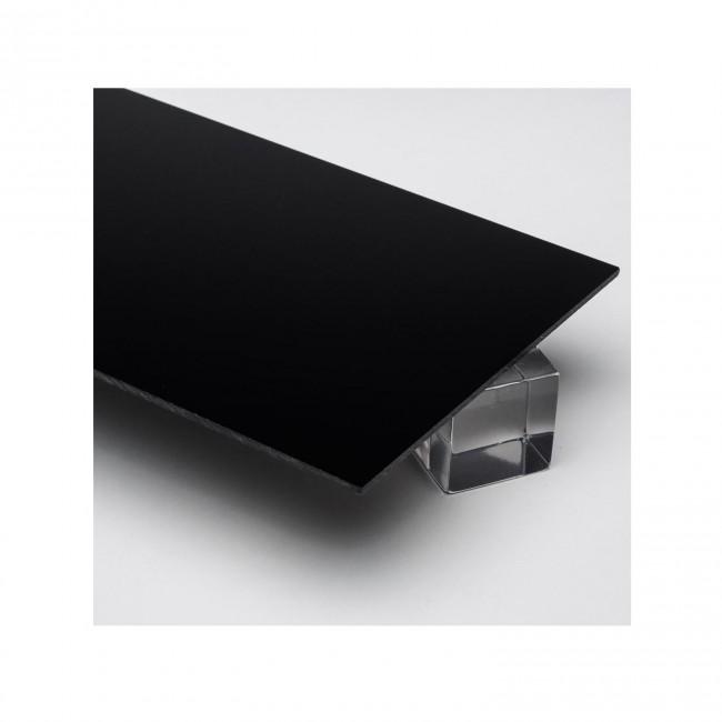 Siyah Pleksi 2.8 mm - 150x300 cm.