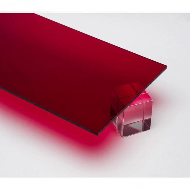 Harf / Karakter Kesim Transparan Kırmızı Pleksi 2.8 mm