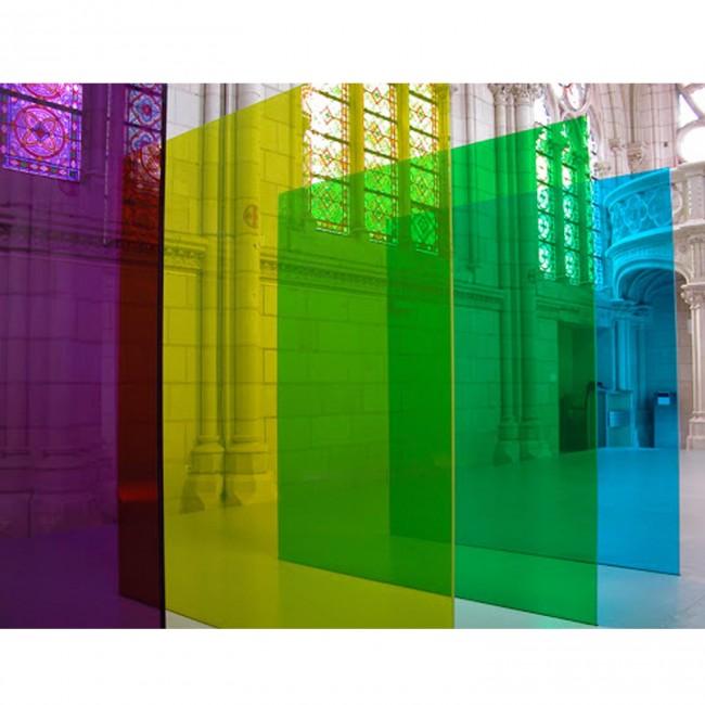 Harf / Karakter Kesim Transparan Yeşil Pleksi 2.8 mm