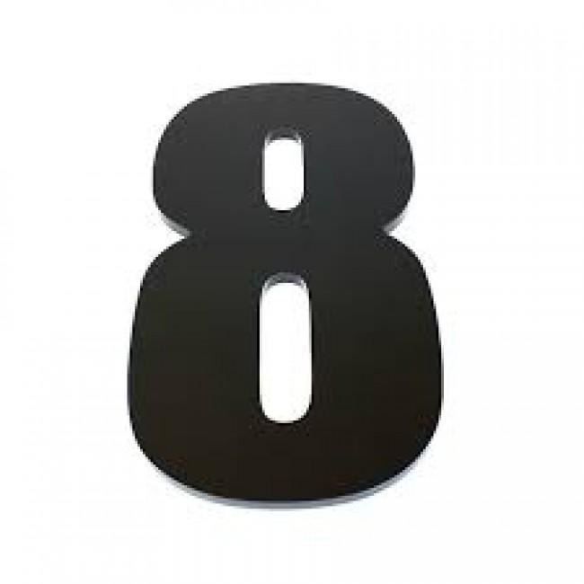 Harf / Karakter Kesim Siyah Pleksi 2.8 mm
